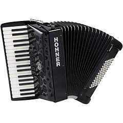 Hohner Amica Forte III 72 Black « Accordéon à touches