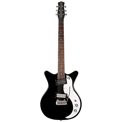 Danelectro 59XT SVR BLK « Electric Guitar