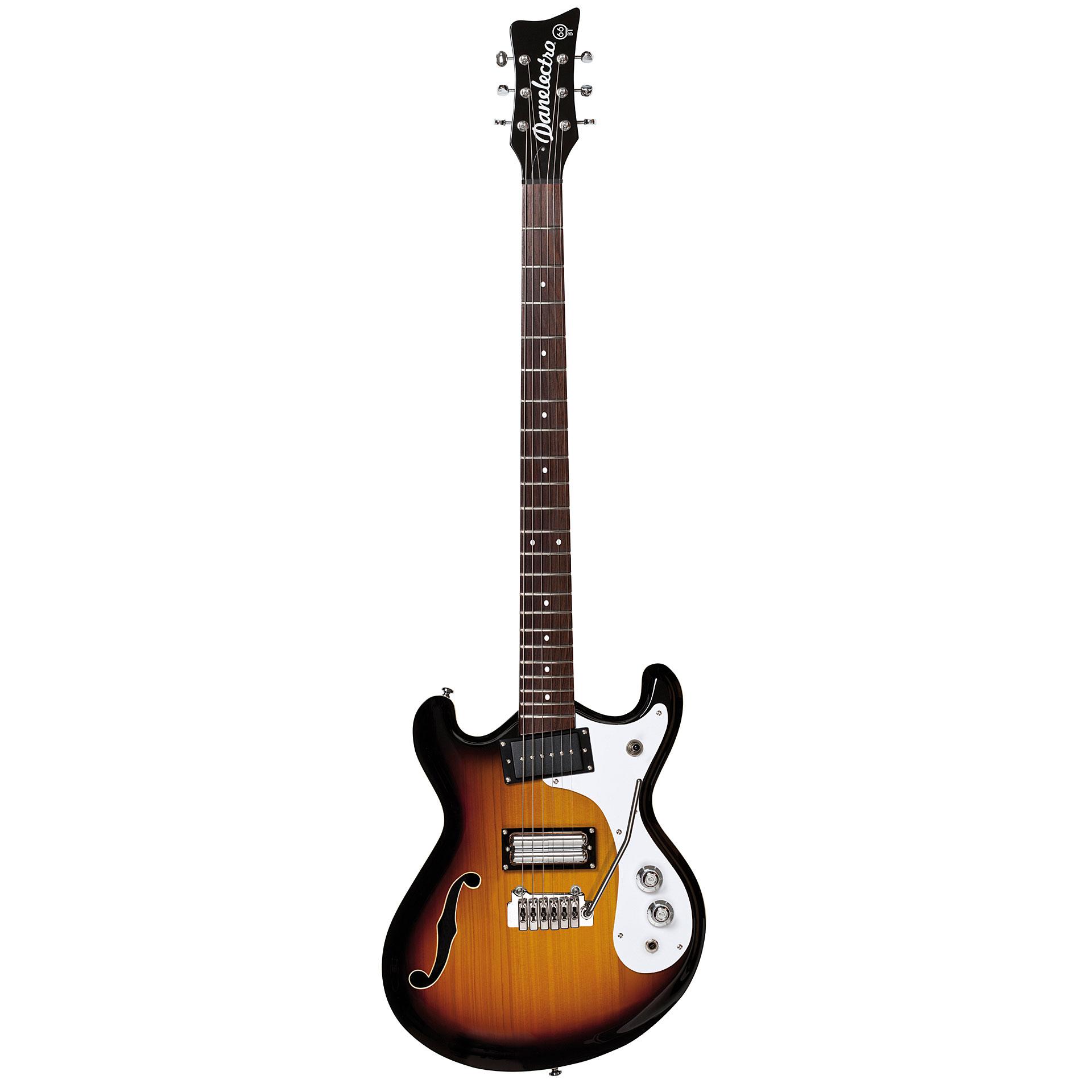 danelectro 66 bt 3ts baritone electric guitar. Black Bedroom Furniture Sets. Home Design Ideas