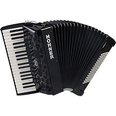 Hohner Amica Forte IV 96 Black « Toetsen Accordeon