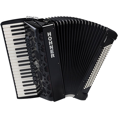 Accordéon à touches Hohner Amica Forte IV 120 Black