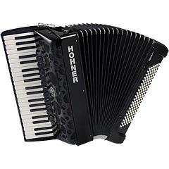 Hohner Amica Forte IV 120 Black « Toetsen Accordeon