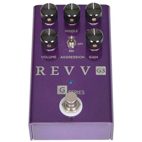 Pedal guitarra eléctrica Revv G3