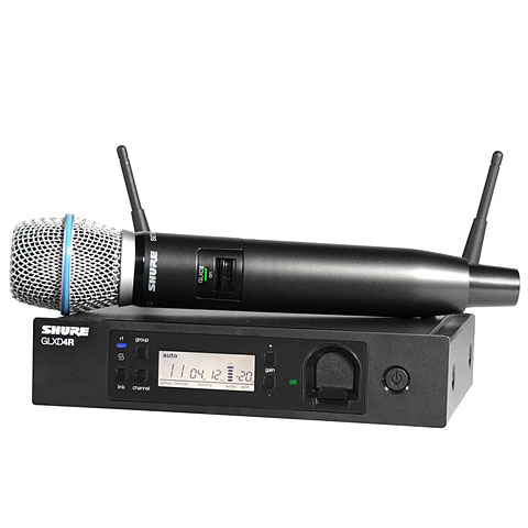 Micrófono inalámbrico Shure GLXD24RE/B87A-Z2