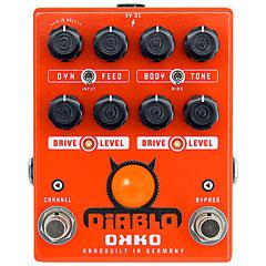 Okko Diablo Dual « Pedal guitarra eléctrica