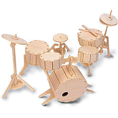 Quay QUAY Woodcraft Construction Kit Drumset « Modellbausatz