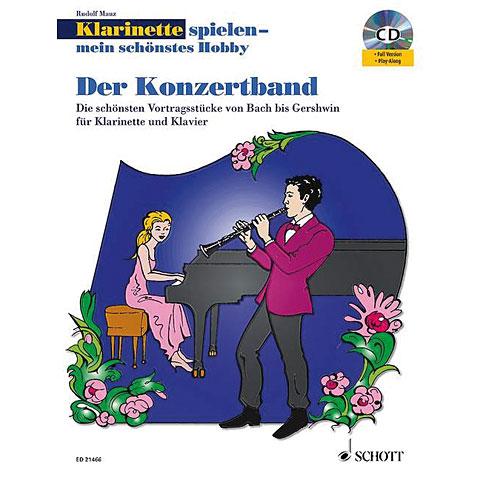 Libro de partituras Schott Der Konzertband