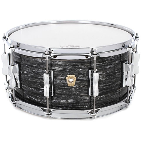 "Ludwig Classic Maple 14"" x 6,5"" Vintage Black Oyster"