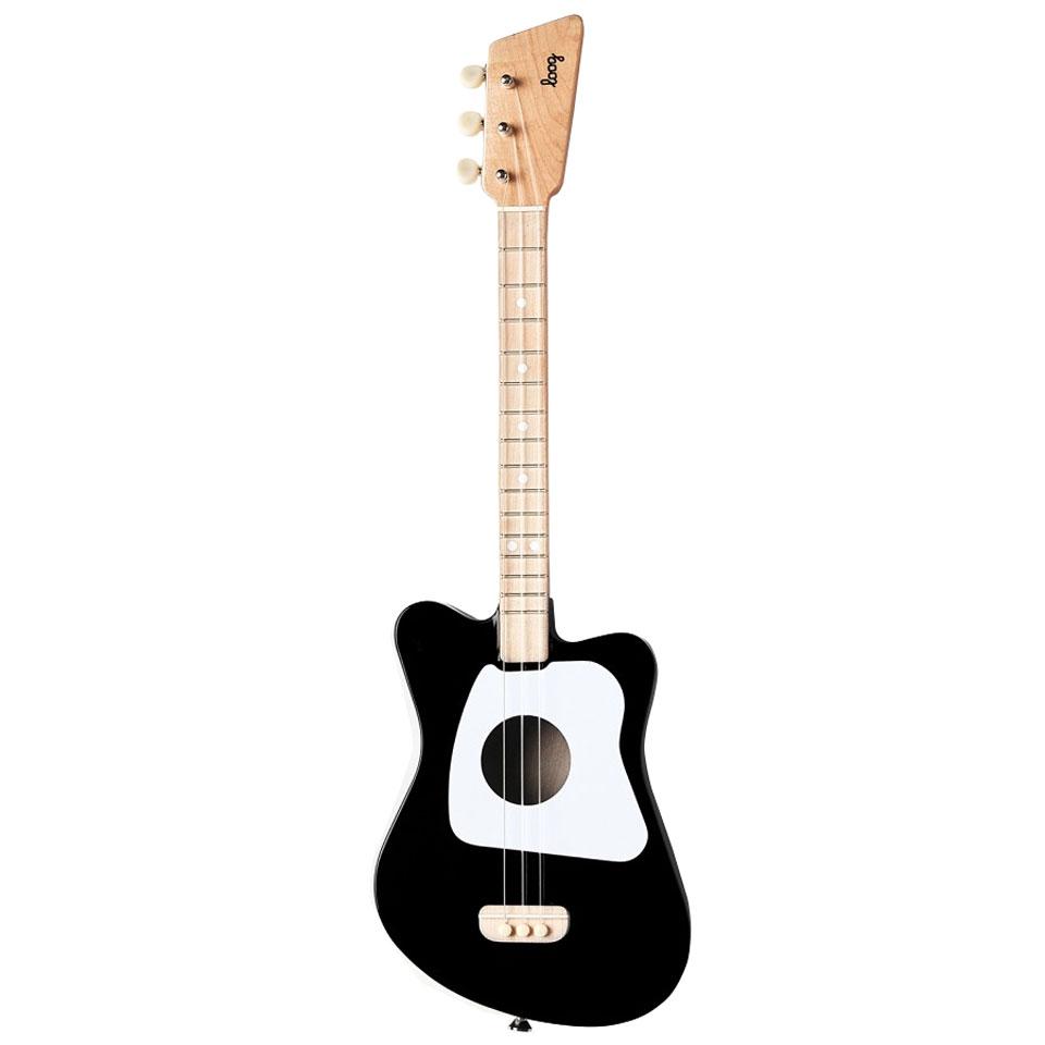 Konzertgitarren - Loog Mini Black Konzertgitarre - Onlineshop Musik Produktiv