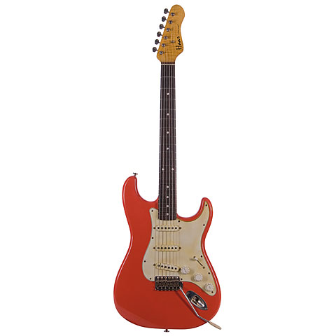 Haar Traditional S aged Fiesta Red « Electric Guitar