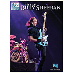 Hal Leonard Best Of Billy Sheehan « Recueil de morceaux