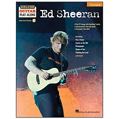 Hal Leonard Deluxe Guitar Play-Along Vol. 9 - Ed Sheeran « Play-Along
