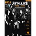 Play-Along Hal Leonard Bass Play-Along Volume 21: Metallica 1983-1988