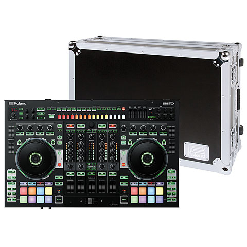 Roland DJ-808 Road Case Bundle