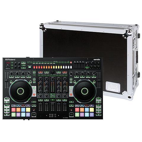 Controlador DJ Roland DJ-808 Road Case Bundle
