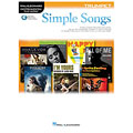 Hal Leonard Simple Songs for Trumpet « Play-Along