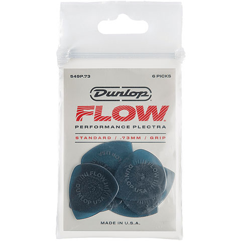 Plektrum Dunlop Flow Standard 0,73 mm (6Stck)