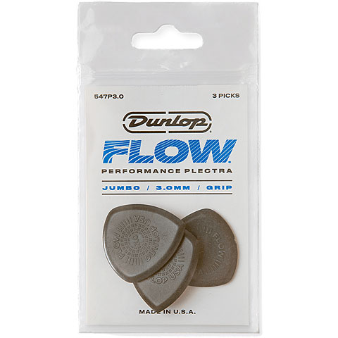 Dunlop Flow Jumbo 3,00 mm (3 Stck)