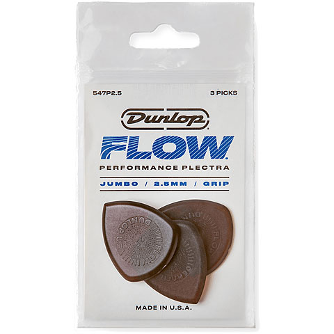 Dunlop Flow Jumbo 2,50 mm (3 Stck)