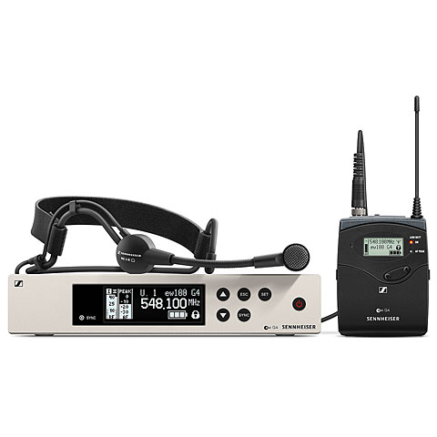 systèmes micro sans fil Sennheiser ew100 G4-ME3-E