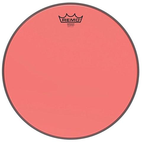 "Parches para Toms Remo Colortone Emperor Clear 10"" Red Tom Head"