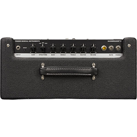 fender bassbreaker 15 limited edition midnight oil guitar amp. Black Bedroom Furniture Sets. Home Design Ideas