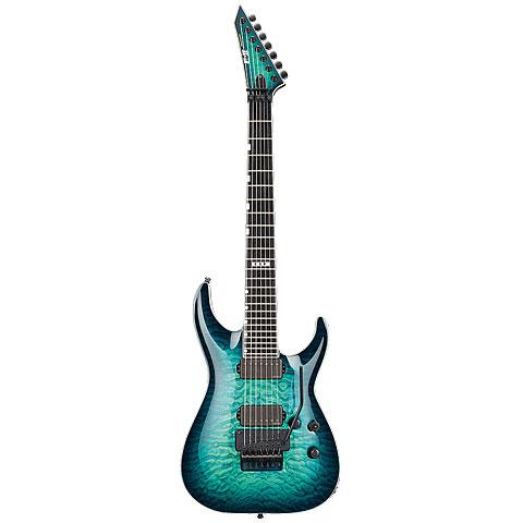 ESP E-II Horizon FR-7 QM TBB « Guitarra eléctrica