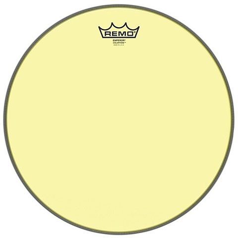 "Remo Colortone Emperor Clear 10"" Yellow Tom Head"