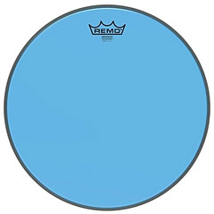 "Remo Colortone Emperor Clear 10"" Blue Tom Head « Peau de tom"