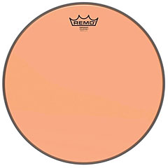 "Remo Colortone Emperor Clear 13"" Orange Tom Head"