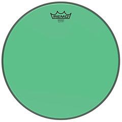 "Remo Colortone Emperor Clear 13"" Green Tom Head"