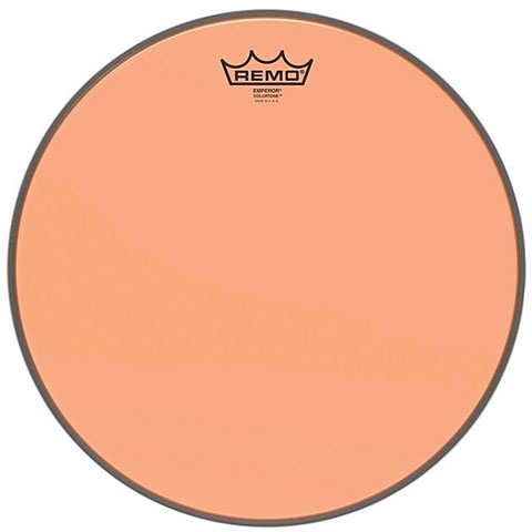 "Parches para Toms Remo Colortone Emperor Clear 14"" Orange Tom Head"