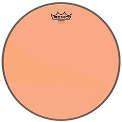 "Remo Colortone Emperor Clear 14"" Orange Tom Head « Parches para Toms"