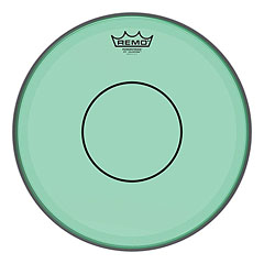 "Remo Colortone Powerstroke 77 Clear 13"" Green Snare Head"