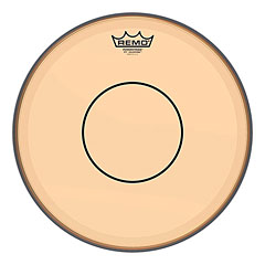"Remo Colortone Powerstroke 77 Clear 14"" Orange Snare Head « Δέρματα snare"