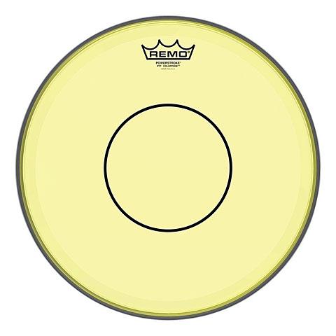 "Parches para caja Remo Colortone Powerstroke 77 Clear 14"" Yellow Snare Head"