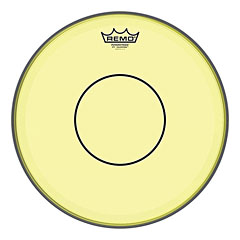 "Remo Colortone Powerstroke 77 Clear 14"" Yellow Snare Head"
