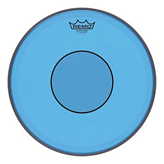"Remo Colortone Powerstroke 77 clear 14"" Blue Snare Head « Δέρματα snare"