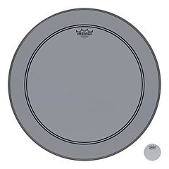 "Remo Colortone Powerstroke 3 Clear 20"" Smoke Bass Drum Head « Bass-Drum-Fell"