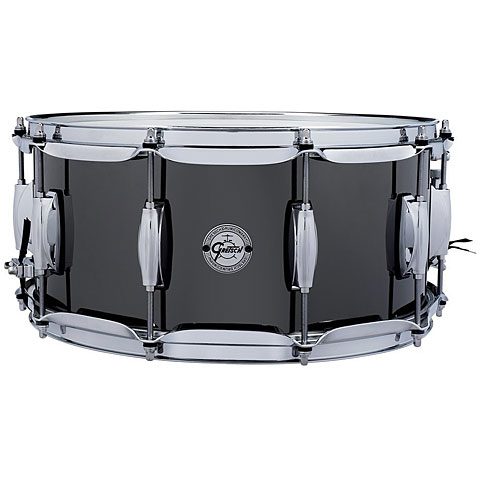 "Gretsch Drums Full Range 14"" x 6,5"" Black Nickel over Steel Snare"