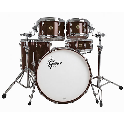 "Batería Gretsch Drums USA Custom 22"" Walnut Gloss Shellset"