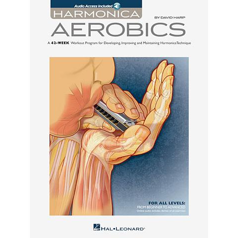 Lehrbuch Hal Leonard David Harp: Harmonica Aerobics