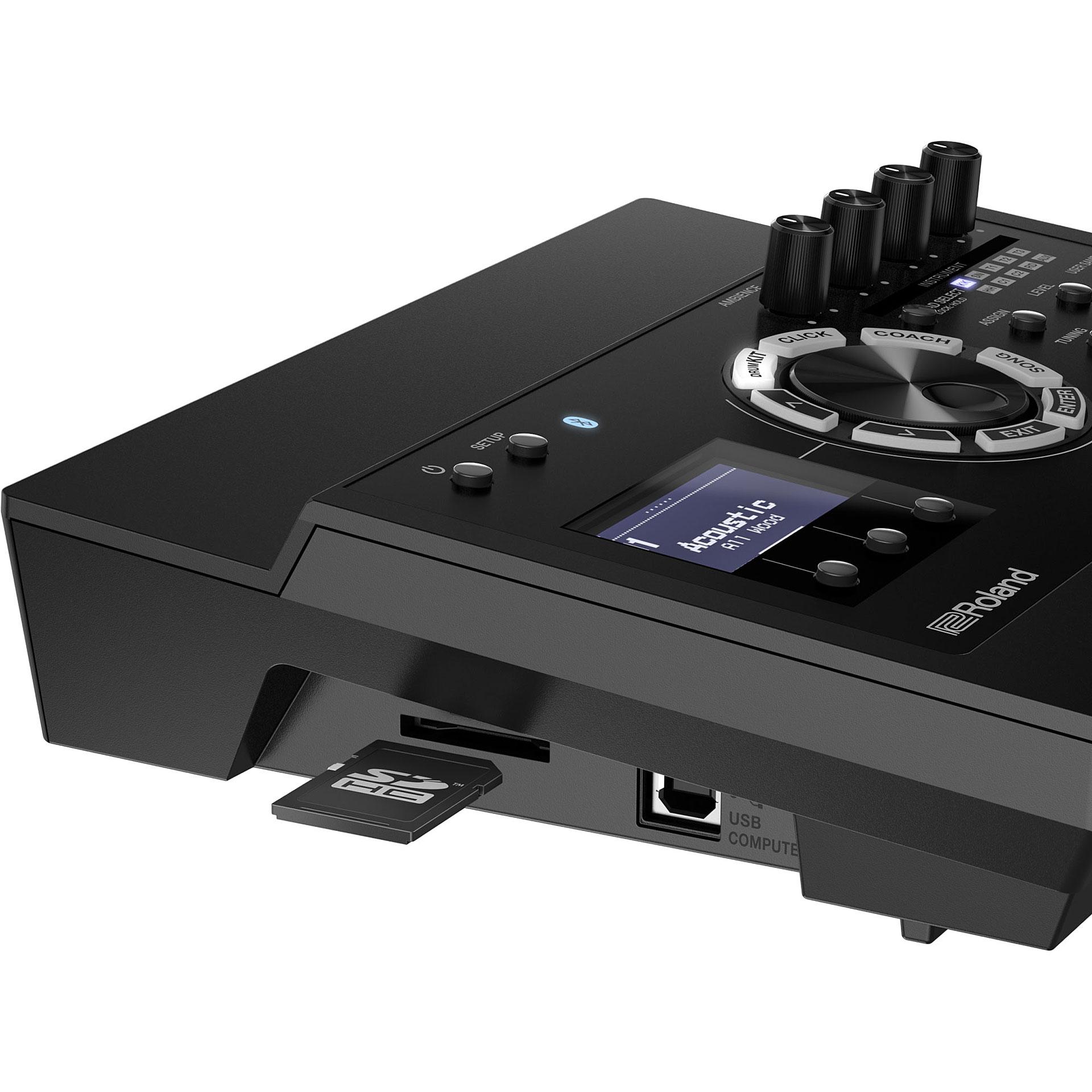 roland td 17 v drum sound module drum module. Black Bedroom Furniture Sets. Home Design Ideas