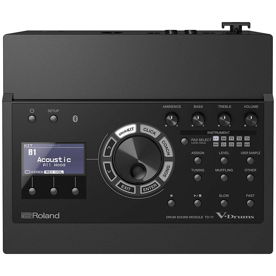 Edrummodule - Roland TD 17 V Drum Sound Module E Drum Modul - Onlineshop Musik Produktiv