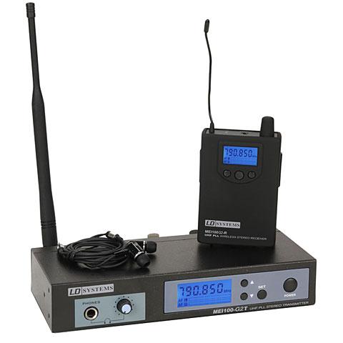 In-Ear System (drahtlos) LD Systems MEI 100 G2 B5