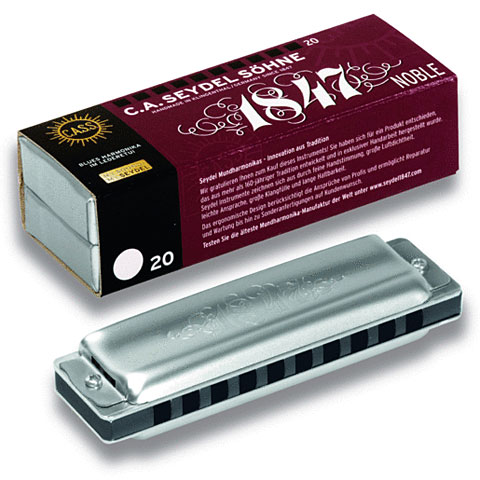Harmonica Richter C.A. Seydel Söhne Blues 1847 Noble HAb