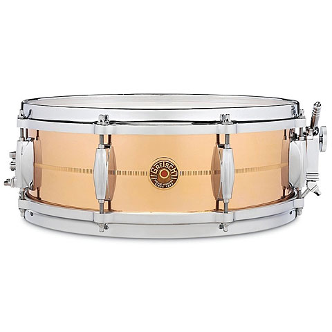 "Gretsch Drums USA 14"" x 5"" Bronze Snare"