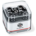 Botones para correa Schaller S-Locks black (Set)
