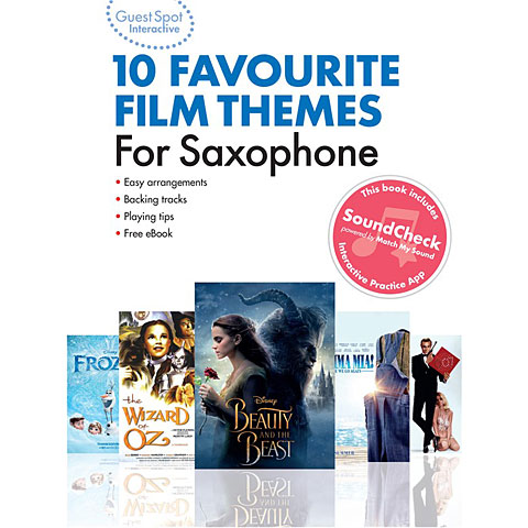Music Sales 10 Favourite Film Themes for Saxophon