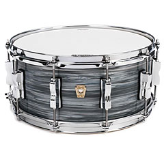 "Ludwig Classic Maple 14"" x 6,5"" Vintage Blue Oyster « Caja"